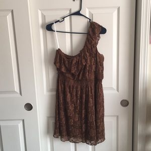 Dresses & Skirts - Lace in Love One Shoulder Dress